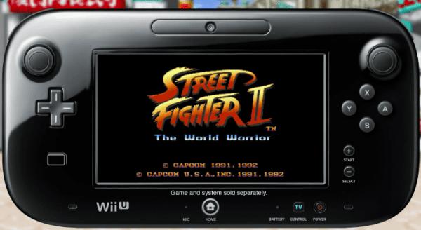 Wii U Street Fighter II