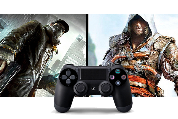 Assassins Creed 4 Watch Dogs PS4