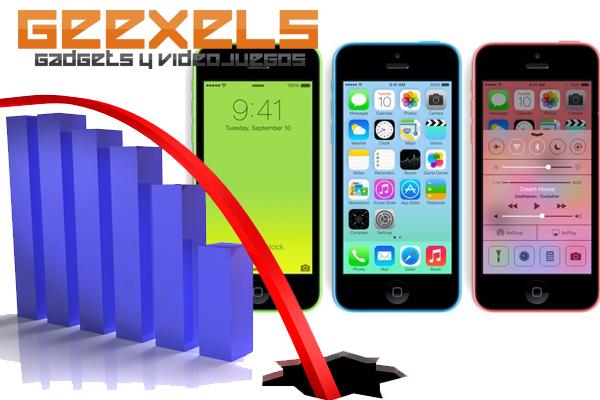 iPhone 5C Bajas Ventas