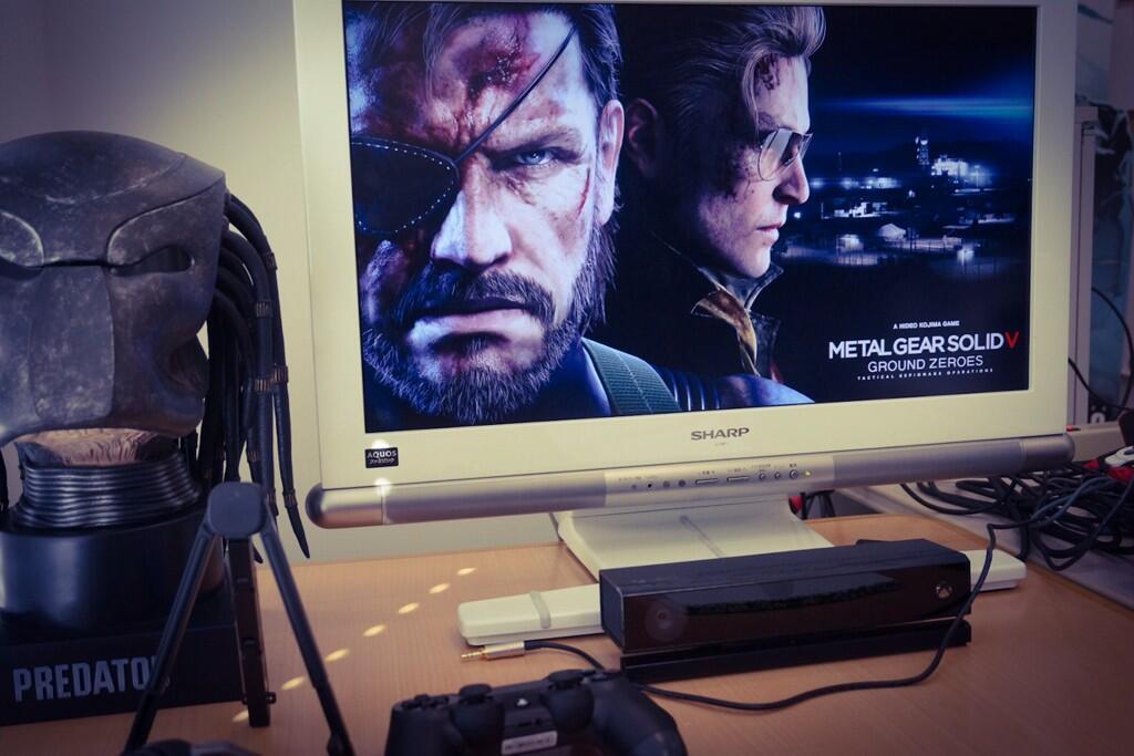 Hideo Kojima Muestra Pruebas De Metal Gear Solid V En Ps4 Geexels
