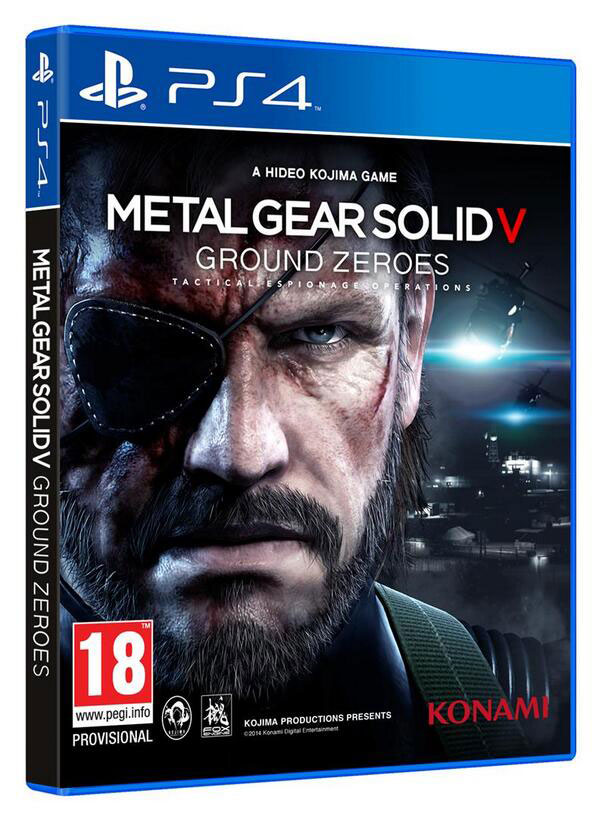 Portada Metal Gear Sold V PS4 Xbox One (2)