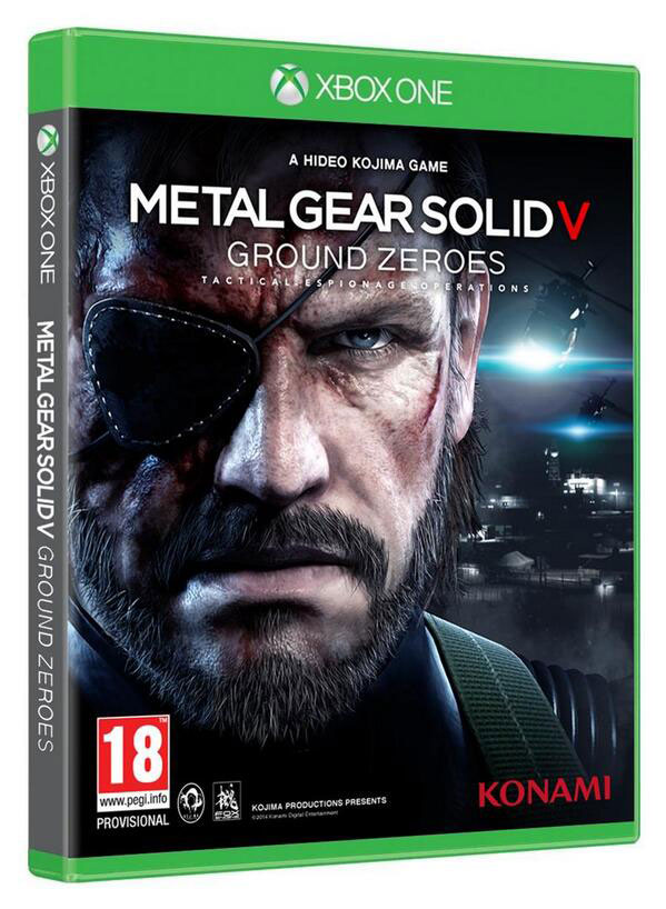Portada Metal Gear Sold V PS4 Xbox One (4)