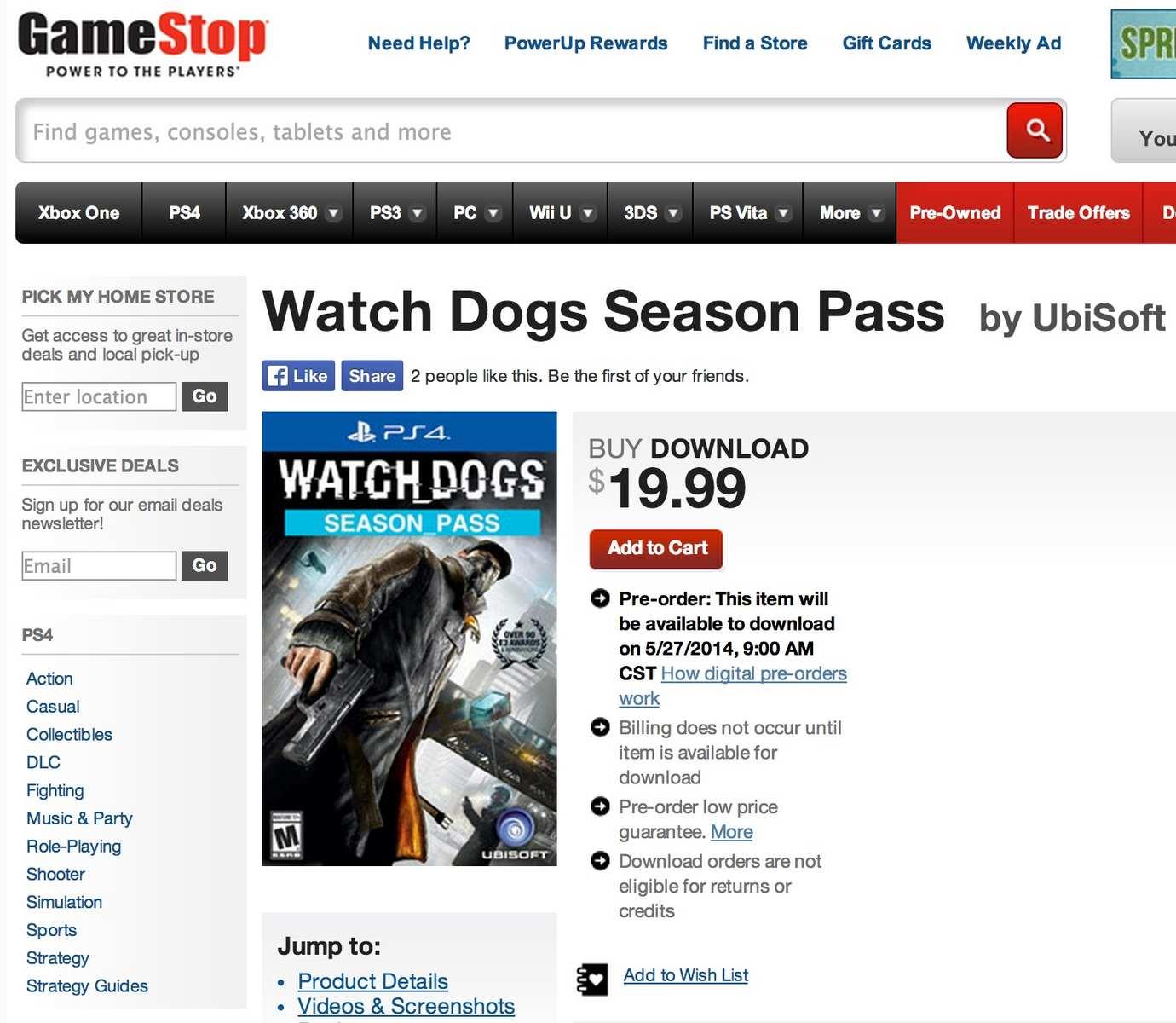 Watch Dogs Seasson Pass con personaje nuevo