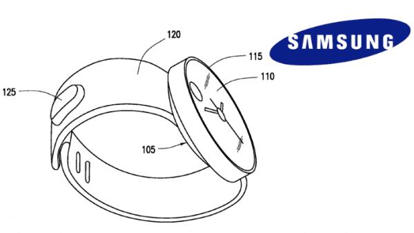 Smarthwatch patentado por Samsung