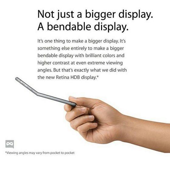 iPhone 6 Plus Bendgate 5