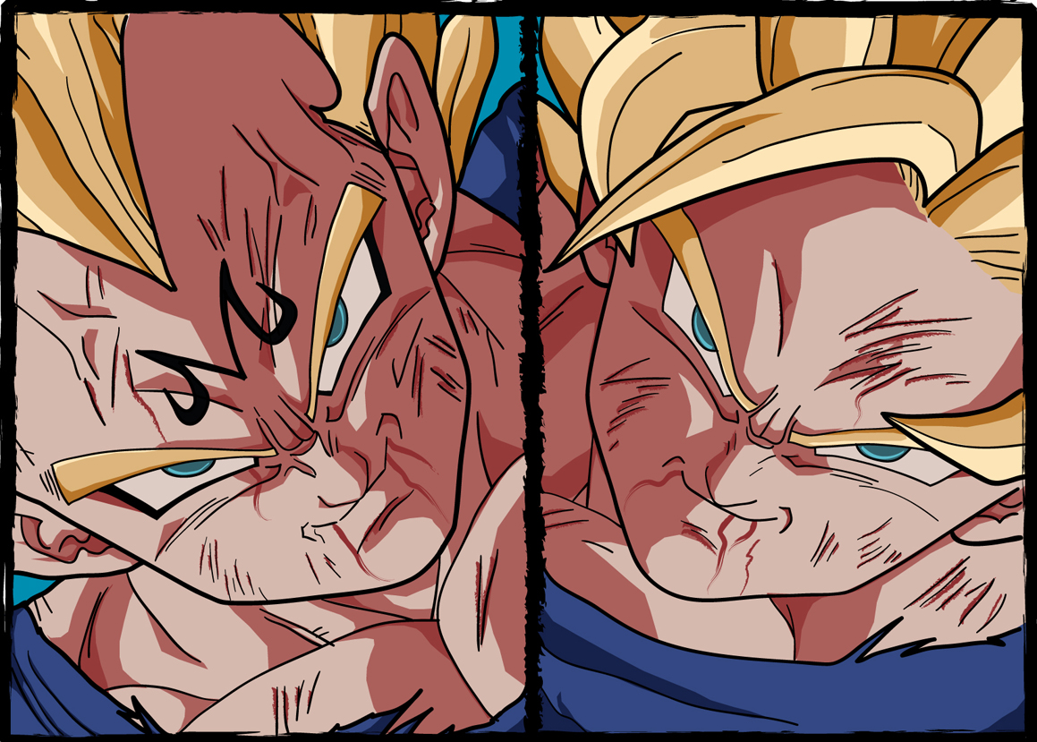 Vegeta_vs_Goku