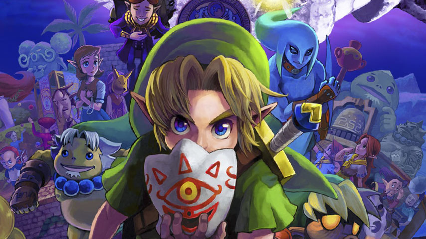 The Legend of Zelda Majoras Mask 3D cover