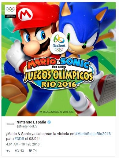 Mario y Sonic