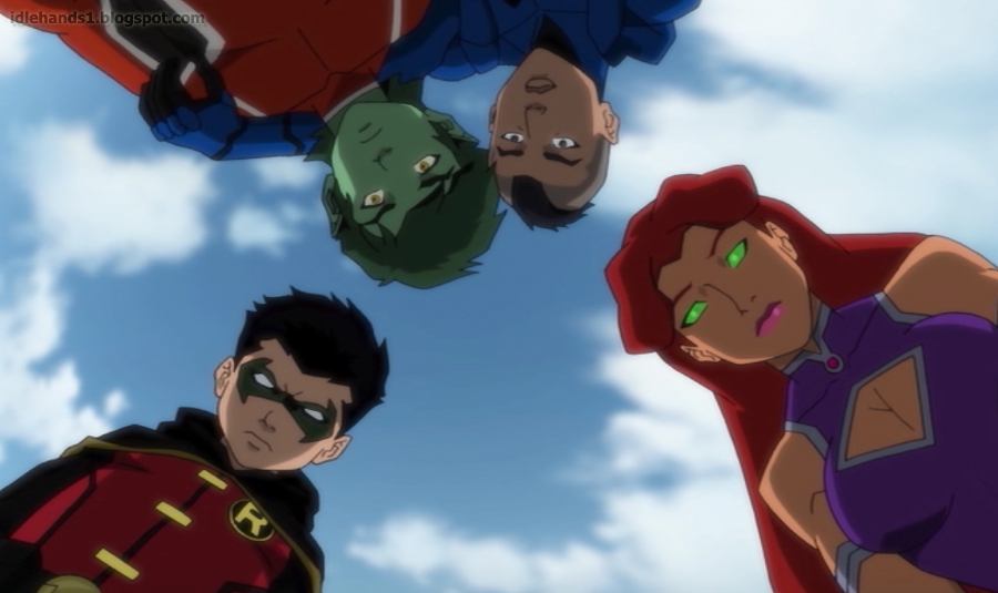 Justice League vs Teen Titans Preview 008