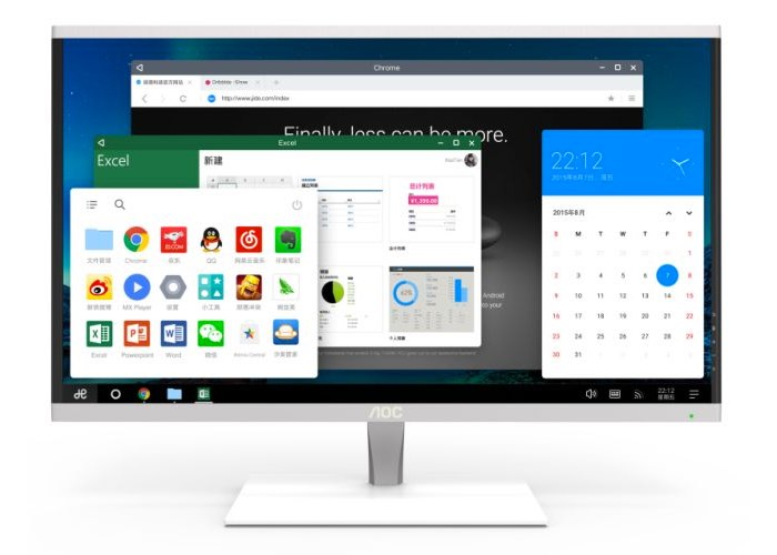 AOC-Desktop-All-in-one-PC-Running-Remix-OS 2.0
