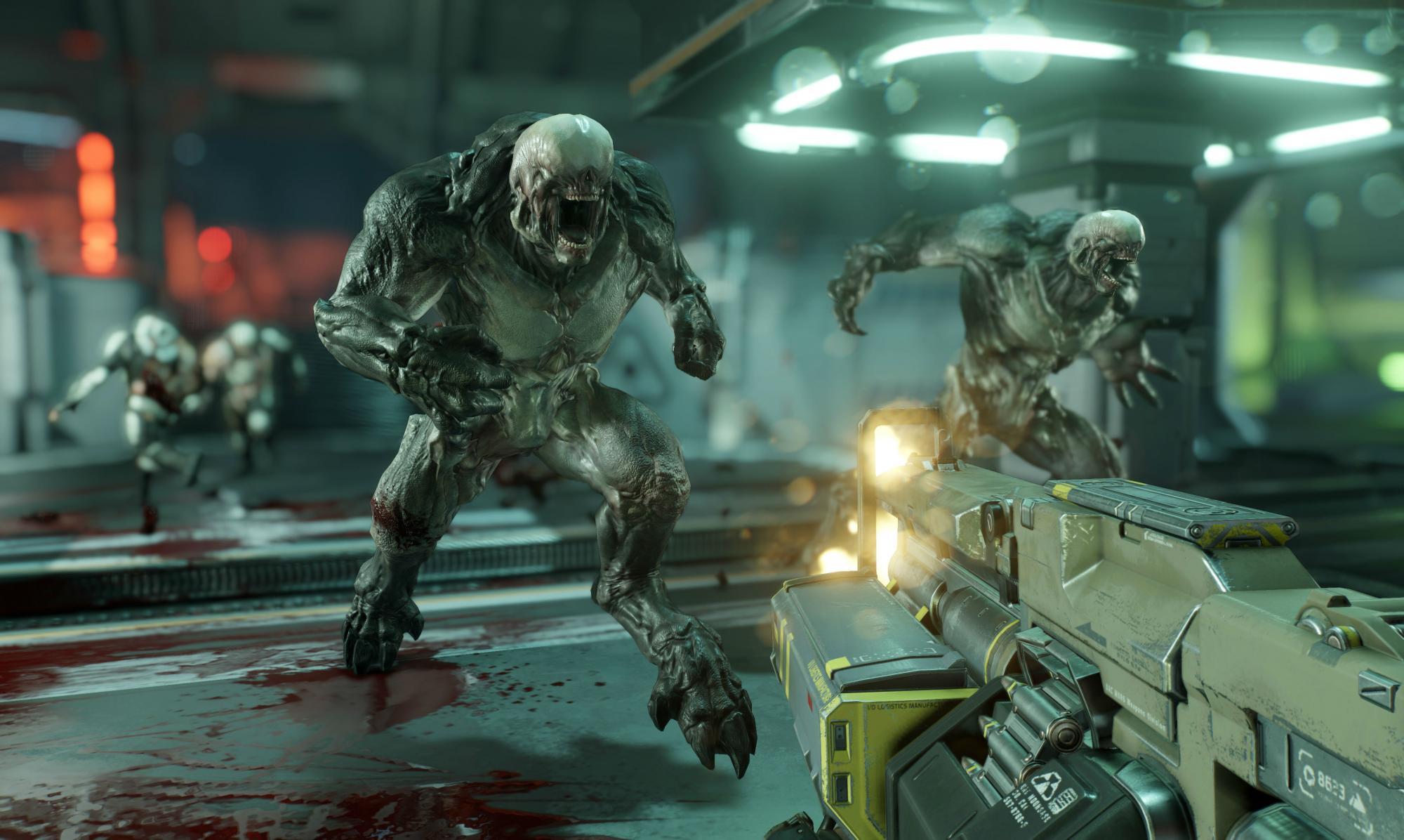Doom gameplay NVIDIA