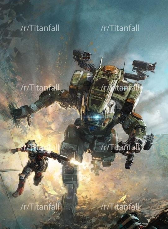 Supuesta portada de Titanfall 2