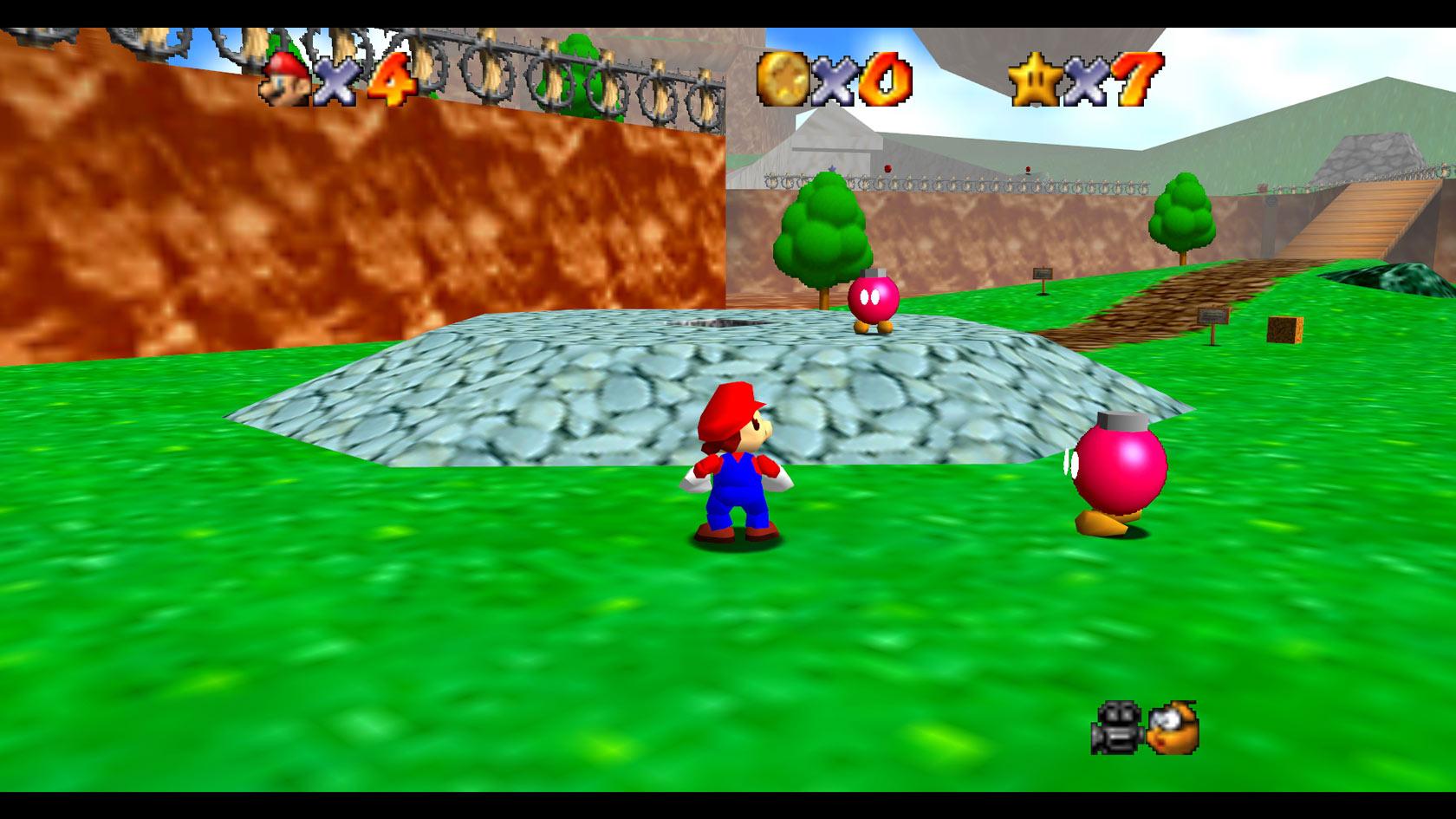 Nintendo-64 Mario