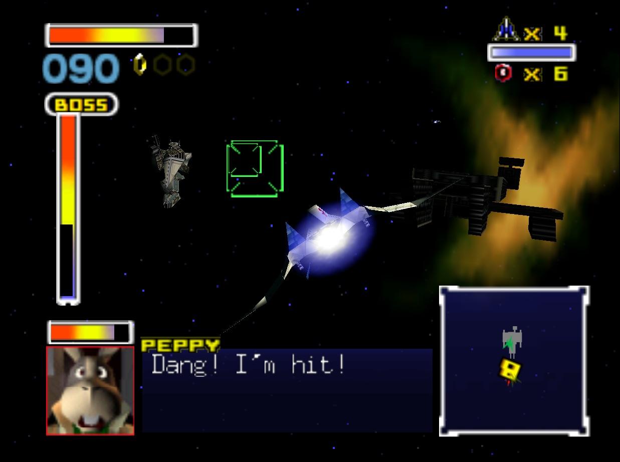 Nintendo-64 Star fox