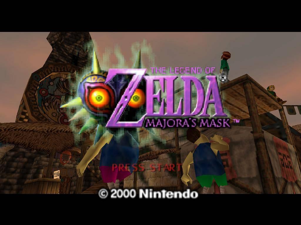 Nintendo-64 Zelda Majora